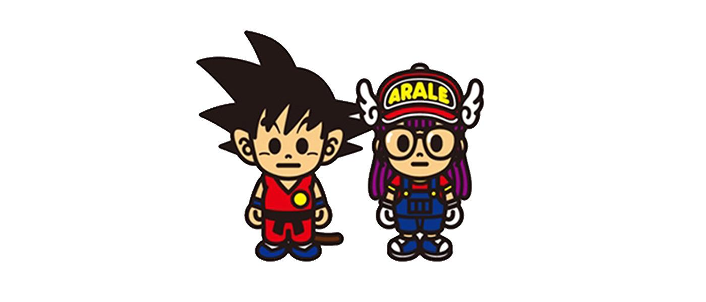 BAPE x Dragon Ball x Arale