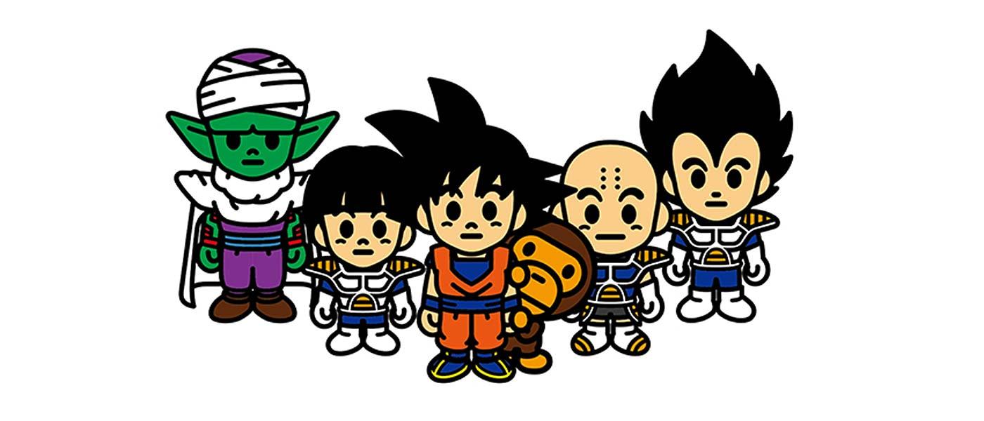 BAPE x Dragon Ball Z