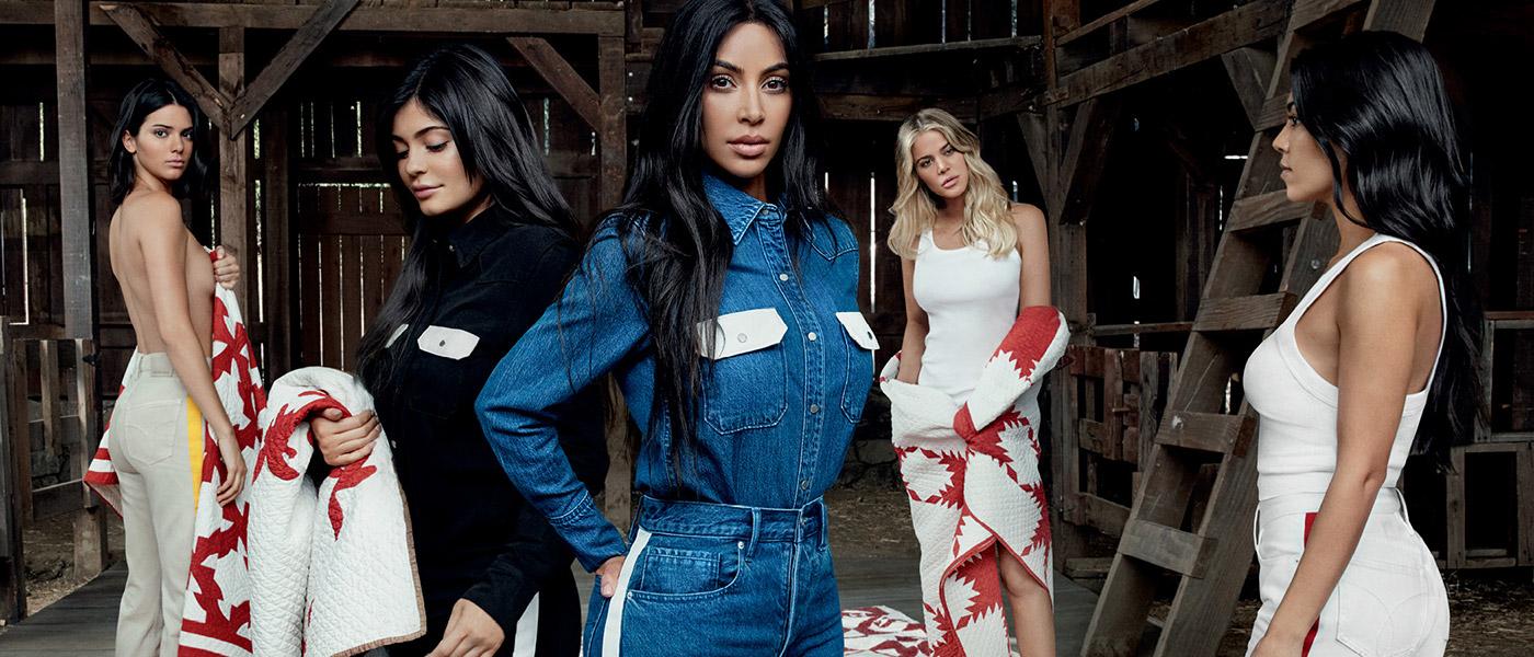 Calvin Klein con las Kardashian