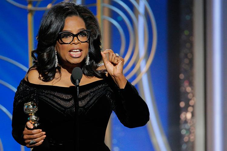 Oprah Winfrey @ Golden Globes 2018