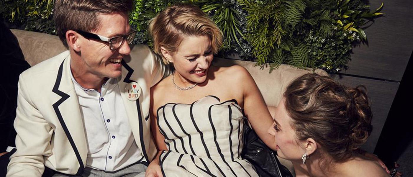 Greta Gerwig @ Vanity Fair after party Oscar 2018